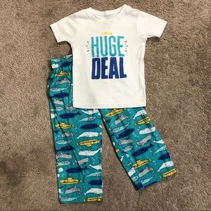 Carter's Boy 2 Piece Pajama Set